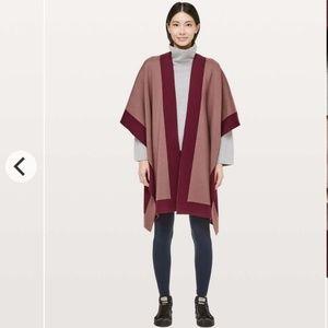 LULULEMON Bundle Up Wrap Poncho Sweater